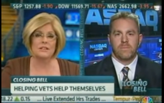 Chris Hale Discusses Buy Veteran Campaign on CNBC, 2011