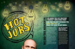 G.I. Jobs® Hot Jobs 2017 list