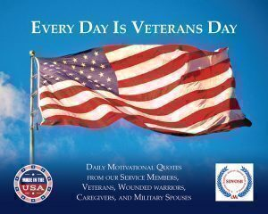 My Veterans Day Calendar by Justin Constantine