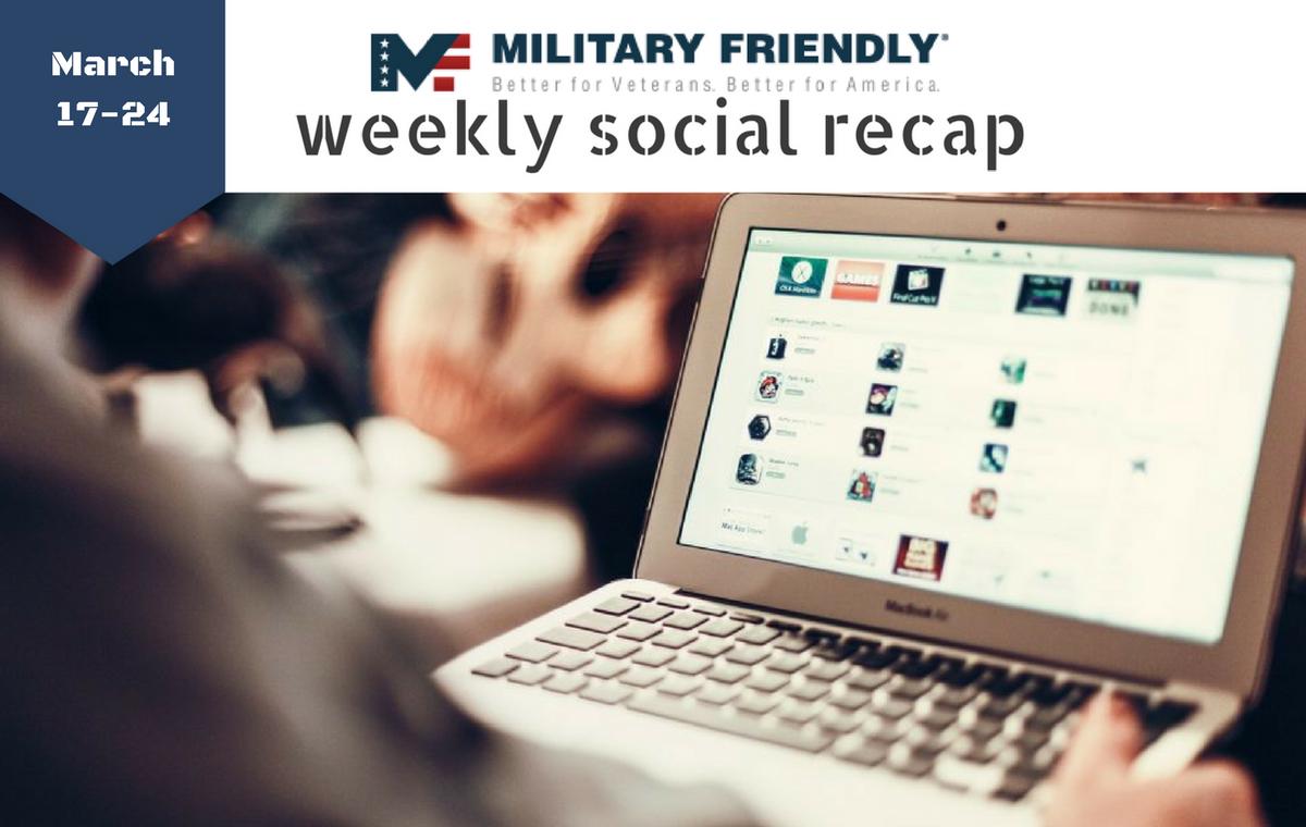roll call military friendly weekly military friendlyreg social recap 17 24