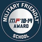 2018 Military Friendly School Award