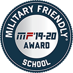 2019-20 Military Friendly School Logo