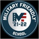 2020-21 Military Friendly School Logo